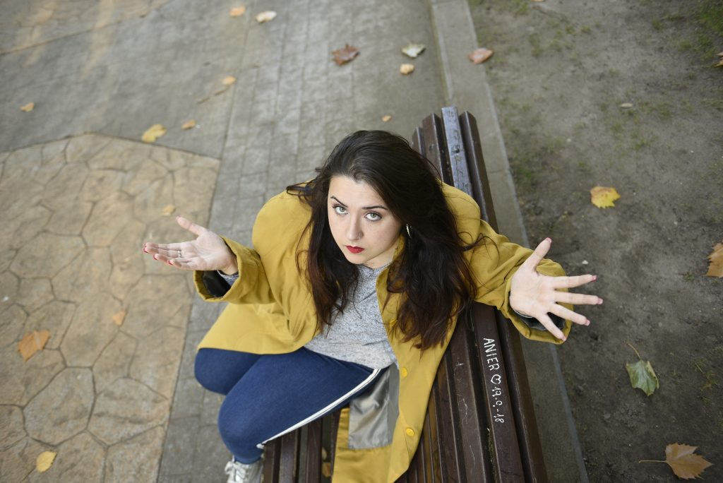 Natalia Cachafeiro por Laura Caraduje