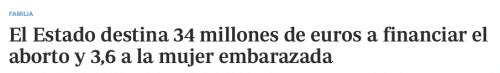 El estado destina 34 millones al aborto maternidad Adolfo Suarez